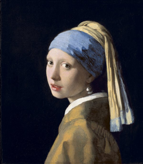 Johannes Vermeer, Girl with a Pearl Earring, c. 1665, oil on canvas.