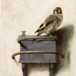 Carel Fabritius, The Goldfinch, 1654, oil on panel.