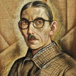 Alfredo Ramos Martínez, Autorretrato (Self-Portrait), circa 1938, tempera on newsprint.