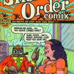 Art Spiegelman, Short Order Comix no. 1, final cover in color, 1973
