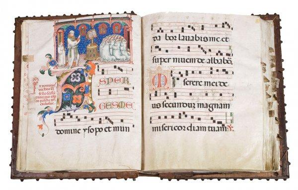 Gradual (Use of the Olivetan Benedictines), circa 1439–47.