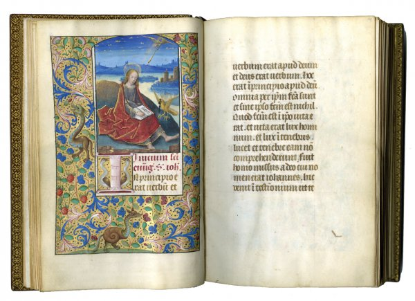 Master of the Burgundian Prelates, Book of Hours, circa 1515;