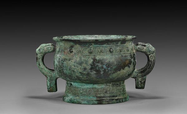 Western Zhou dynasty bronze food vessel gui