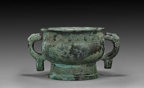 Western Zhou dynasty bronze food vessel gui