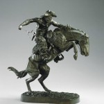 Frederic Remington, The Broncho Buster, 1895 (cast 1906)