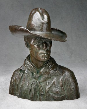 Alexander Phimister Proctor, Slim, 1914 (cast 1915 or after) 11 7/8 x 10 x 5 inches.