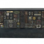 Paul Evans, forged-steel-fronted cabinet