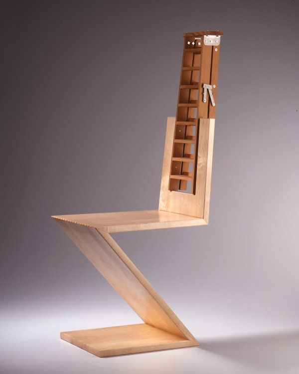 Garry Knox Bennett, ladder-back chair.