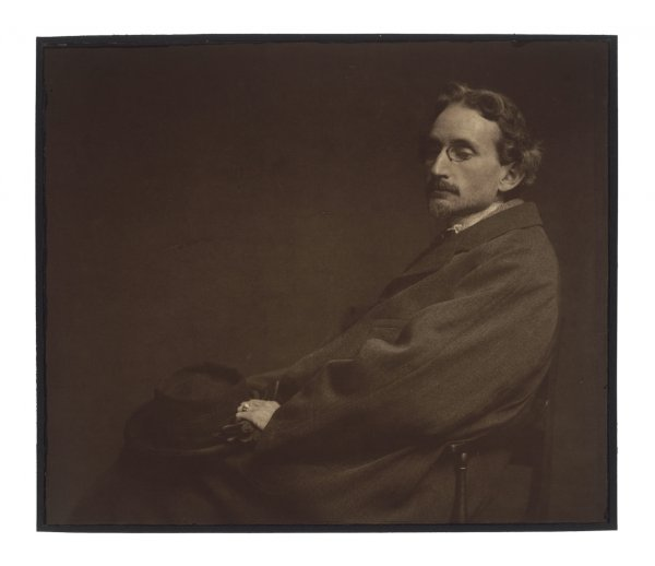 J. Craig Annan, Fred Holland Day, c. 1900-01, platinum and gum bichromate combination print.