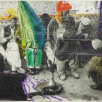 Sigmar Polke, Untitled (Quetta, Pakistan), 1974/1978, gelatin silver print with applied color