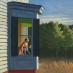 Edward Hopper, Cape Cod Morning, 1950, oil.