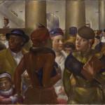 Kenneth Hayes Miller, Bargain Hunters, 1940, oil.