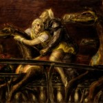 Reginald Marsh, George Tilyou's Steeplechase, 1932, oil and egg tempera;