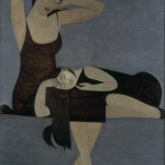 Will Barnet, Sleeping Child, 1961, oil;