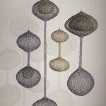 Ruth Asawa, Untitled (S.046), 1961, looped wire, 60 x 17 x 17 inches (largest), 21 x 12 x 12 inches (smallest);