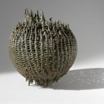 Ruth Asawa, Untitled (S.130), circa 1996, cast bronze, 14 x 13.5 x 13.5 inches;