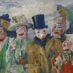 James Ensor, The Intrigue, 1890, oil on canvas.