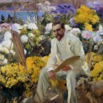 Joaquín Sorolla y Bastida, Portrait of Louis Comfort Tiffany, 1911, oil on canvas.