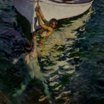 Joaquín Sorolla y Bastida, The White Boat, 1905, oil on canvas.