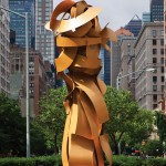 Albert Paley, Envious Composure, 2013, at 67th Street and Park Avenue, New York.