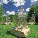 Jaume Plensa, I, you, she or he…, 2006, at Frederik Meijer Gardens & Sculpture Park;