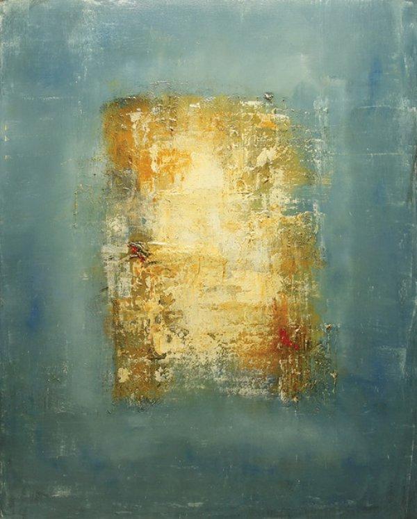 Brad Robertson, Oblivion, oil on canvas, 60 x 48 inches.