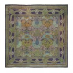 C.F.A. Voysey, Donnemara carpet, first quarter 20th century, hand-woven wool, 135 x 136 inches;