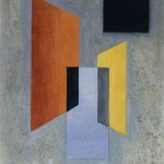 Charles Green Shaw, Untitled (Intersecting Trapezoids No. 1)