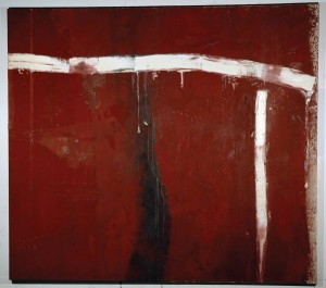 Michael Goldberg, The Wife, 1962, oil on canvas, 89 x 100.25 inches,