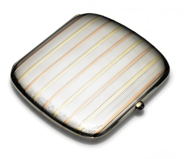 Cigarette case sold to Willis McCormick, president of Queen Aviation
