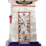 Egyptian striking clock owned by Mrs. George Blumenthal