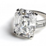 Engagement ring worn by HSH Princess Grace of Monaco