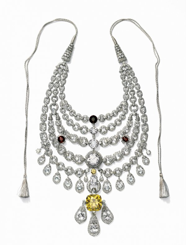 Necklace created for Sir Bhupindra Singh, Maharaja of Patiala