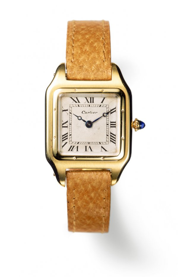 Santos wristwatch, Cartier Paris