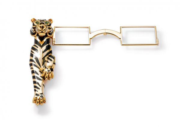 Tiger lorgnette owned by the Duchess of Windsor