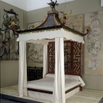 The Badminton Bed, circa 1754.
