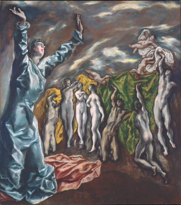 El Greco, The Vision of Saint John, 1608-14, oil on canvas