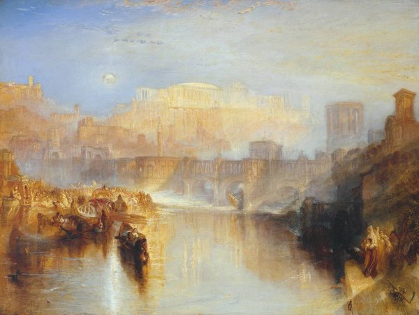 J.M.W. Turner, Ancient Rome; Agrippina Landing with the Ashes of Germanicus
