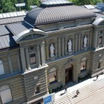 Exterior view of the Kunstmuseum Bern;