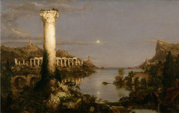 Thomas Cole , The Course of Empire: Desolation, 1836