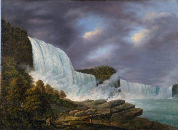 Louisa Davis Minot, Niagara Falls, 1818