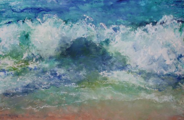 Ruth Hamill, Perfect Beach Day,