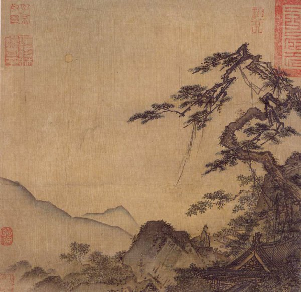 Ma Lin, Landscape With Great Pine