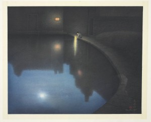 Wu Lan-chiann, Precious Light, scroll