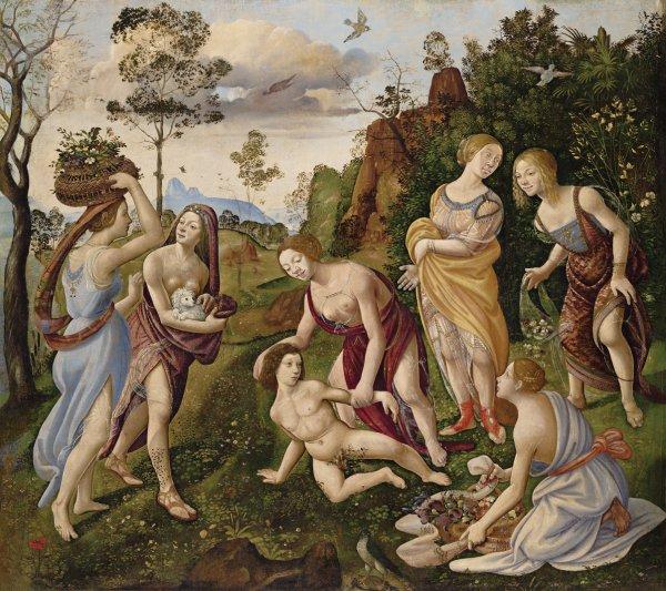 Piero di Cosimo, The Finding of Vulcan on Lemnos