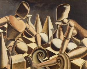 Man Ray, Endgame, 1946