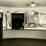 Historic image of the Rugolo mural