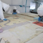 Conservators from EverGreene Architectural Arts