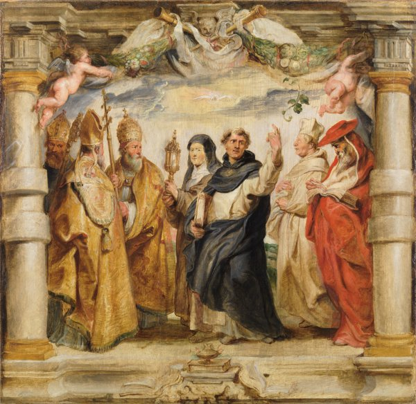 Peter Paul Rubens, The Defenders of the Eucharist