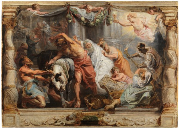 Peter Paul Rubens, Rubens, The Victory of the Eucharist over Idolatry,